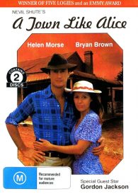 A TOWN LIKE ALICE –   TV MINI SERIES featuring BRYAN BROWN ( PAL DVD )