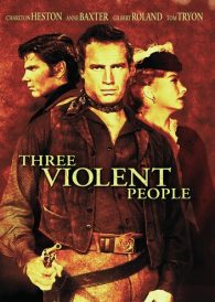 Three Violent People – Charlton Heston – New Region All DVD