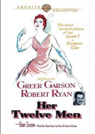 Her Twelve Men – Greer Garson / Robert Taylor – New Region All DVD