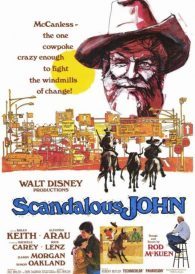 Scandalous John – Brian Keith – New Region All DVD ( PAL )