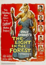 The Light in the Forest – New Region All ( PAL ) DVD