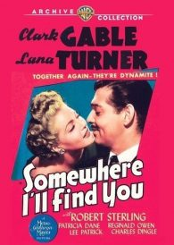 Somewhere I'll Find You – Clark Gable –  New Region All DVD