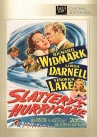 Slattery's Hurricane – Richard Widmark –  Region All DVD