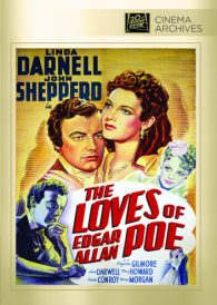 The Loves of Edgar Allan Poe – Linda Darnell –  Region All DVD