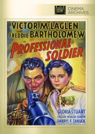 Professional Soldier – Victor McLaglen –  Region All DVD