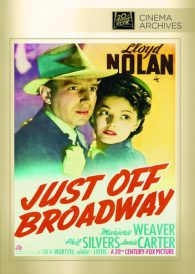 Just Off Broadway – Lloyd Nolan –  Region All DVD