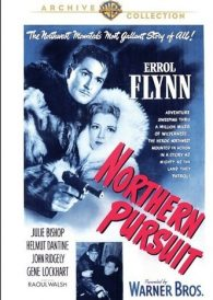 Northern Pursuit – Errol Flynn – New Region All DVD