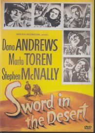 Sword in the Desert – Dana Andrews DVD