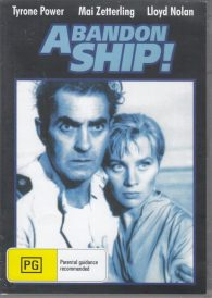 Abandon Ship – Tyrone Power DVD
