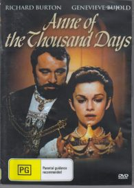 Anne of the Thousand Days – Richard Burton DVD