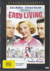 Easy Living – Jean Arthur, Edward Arnold DVD