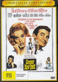 Sunday in New York – Rod Taylor DVD