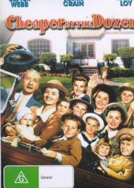 Cheaper by the Dozen – Clifton Webb DVD