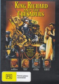 King Richard and the Crusaders – Rex Harrison DVD