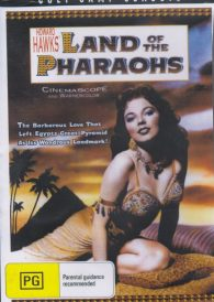 Land of the Pharaohs – Jack Hawkins DVD