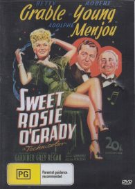 Sweet Rosie O'Grady – Betty Grable DVD