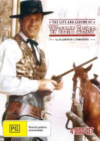 The Life And Legend Of Wyatt Earp –  Hugh O'Brian DVD 4 Disc Set