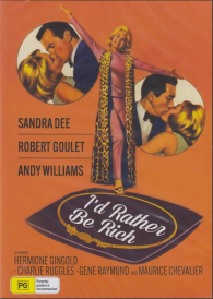 I'd Rather Be Rich -Sandra Dee DVD