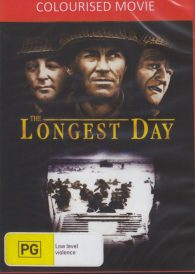 The Longest Day – John Wayne DVD ( Colourised Version )