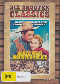 North West Mounted Police –  Gary Cooper DVD