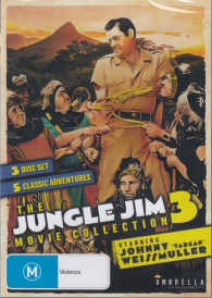 The Jungle Jim Movie Collection  VOL  3 – 3DVD