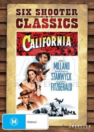 California  – Ray Milland DVD
