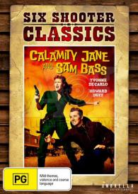 Calamity Jane and Sam Bass – Yvonne De Carlo DVD