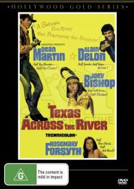 Texas Across the River – Dean Martin DVD