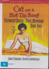 Cat on a Hot Tin Roof –  Elizabeth Taylor DVD