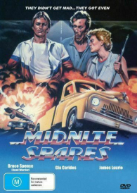 Midnite Spares – Bruce Spence  – New Region All DVD ( PAL )