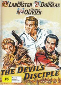 The Devil's Disciple – Kirk Douglas  – New Region All DVD