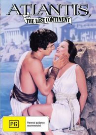 Atlantis , The Lost Continent  – Anthony Hall  New Region All DVD