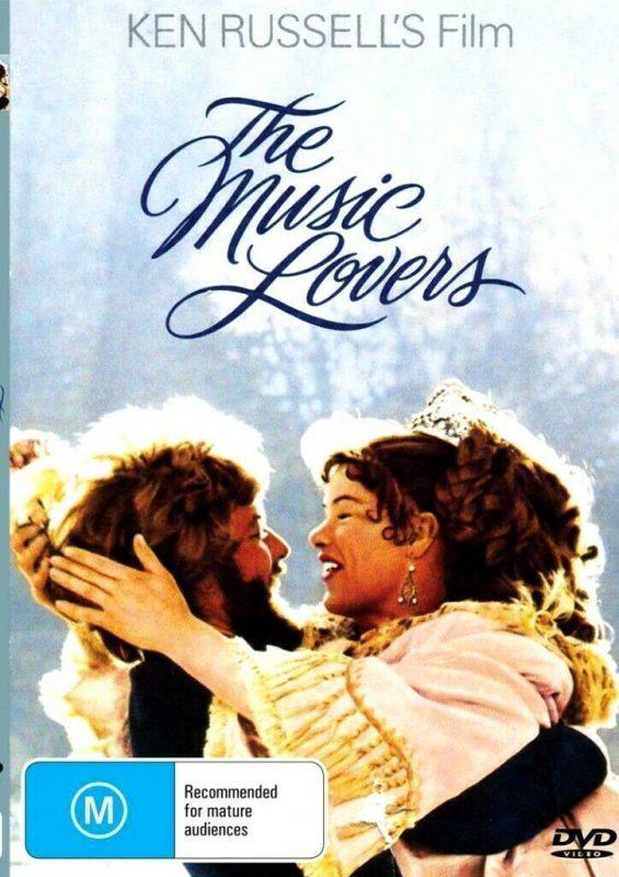 The Music Lovers Richard Chamberlain Glenda Jackson New Region All Dvd Film Classics