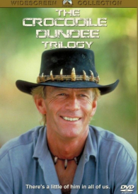 Crocodile Dundee Trilogy  1, 2 & 3  – New Region All DVD