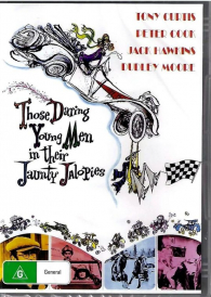 Those Daring Young Men In Their Jaunty Jalopies – Tony Curtis DVD