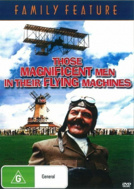 Those Magnificent Men in Their Flying Machines  – Stuart Whitman DVD