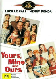 Yours, Mine and Ours –  Lucille Ball  DVD