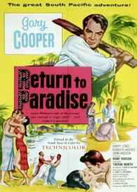 Return to Paradise – Gary Cooper  – New Region All DVD