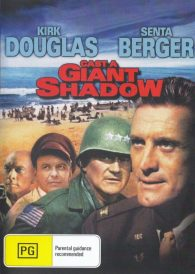 Cast A Giant Shadow – Kirk Douglas  – New Region All DVD