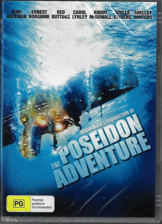 The Poseidon Adventure Gene Hackman New Region All